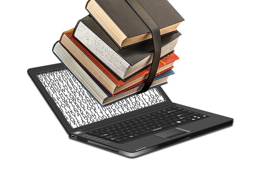 digitization of library, electronic, digitizing ebook-3068971.jpg